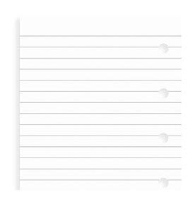 Einlage Notizpapier weiß - Mini