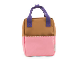 STICKY LEMON Small backpack colourblocking | panache gold