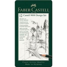 Faber-Castell Bleistifte (Castell 9000) 12er Design Set