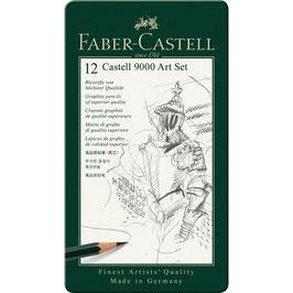Faber-Castell Bleistifte (Castell 9000) 12er Art Set