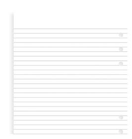 Einlage Notizpapier weiß, 25 Blatt - A5