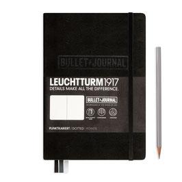 Bullet Journal Notizbuch Medium (A5), Hardcover, 240 num. Seiten, Dotted