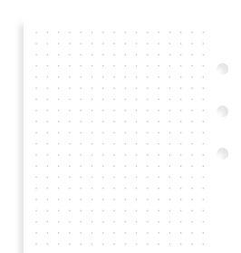 Einlage Notizpapier gepunktet - Personal