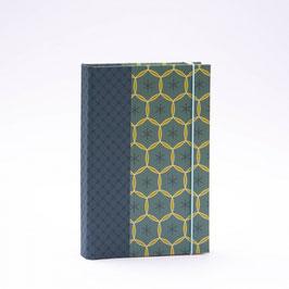 Bindewerk ALMA Notizbuch DIN A5, 144 Blatt, Muster Cumberland