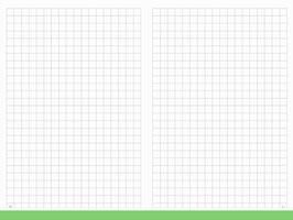 X17 Notizbucheinlage A4+ Notizen kariert + Index Seite 1-3