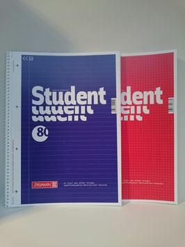 Brunnen Student Collegeblock, A4, ohne Rand