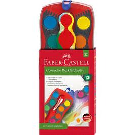 Faber-Castell Farbkasten Connector, 12 Farben