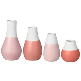 Mini-Pastellvasen von Räder, 4er Set