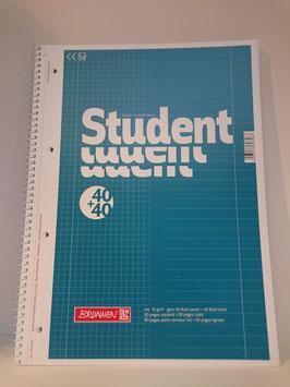 Brunnen Student Collegeblock, A4, Duo