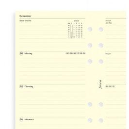 Einlage 1 Woche / 2 Seiten deutsch Cotton Cream Personal