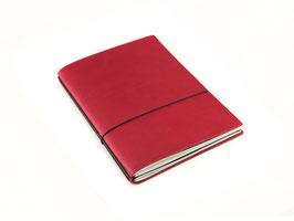 X17 Notizbuch A5 aus Naturleder, 2er