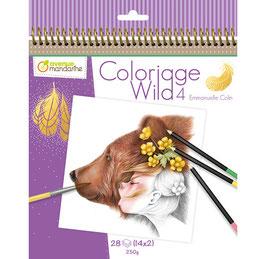 Avenue Mandarine Colouring book Wild 4 - Emmanuelle Colin