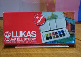 LUKAS AQUARELL STUDIO TRAVEL BOX