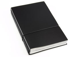 X17 Notizbuch A5 aus Lederfasermaterial, 3er