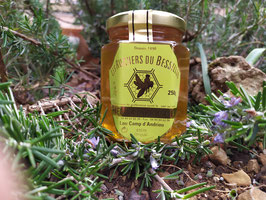 Miel de garrigues 250 g. verre