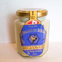 Miel de lavandes Label Rouge 250 g verre crémeux ou solide