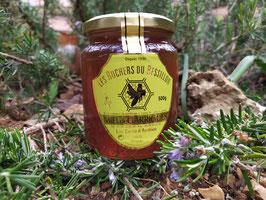 Miel de garriques 500 g. verre