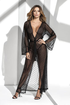 ES 8379 Mapale Long Lace Robe