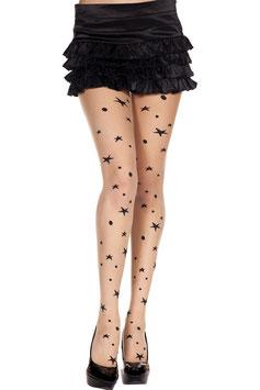 ML 7264 Music Legs Strumpfhose