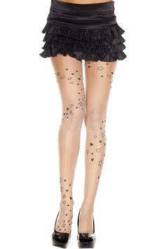 ML 7202 Music Legs Strumpfhose
