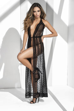 ES 8380 Mapale Long Lace Robe