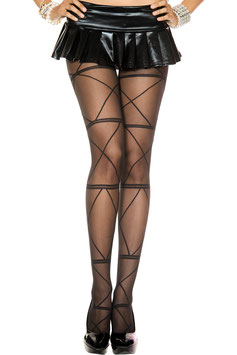 ML 7209 Music Legs Strumfhose