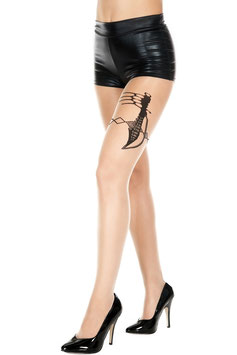 ML7306 Music Legs Strumpfhose