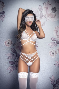 ES 8358  Bridal Set with  Eye Mask