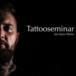Teilnahme am Tattoo Seminar bei Marco PikAss