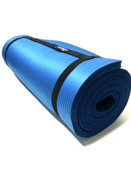 Fitness Mat Blue - 185 cm x 60 cm x 1.5 cm