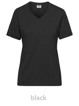 Lady Workwear T-Shirt BIO SOLID