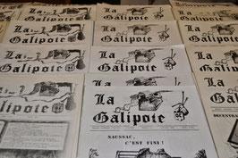 Journal LA GALIPOTE de votre année de naissance