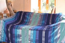 Couverture laine et soie
