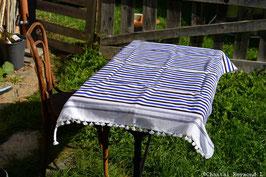 Nappe en laine fine, Fouta ou serviette de plage...