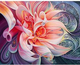 Abstracte bloem - Y18103