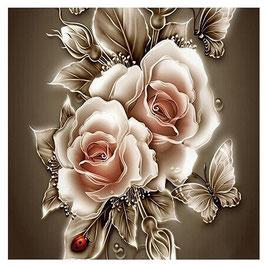 Gouden bloemen - H18133