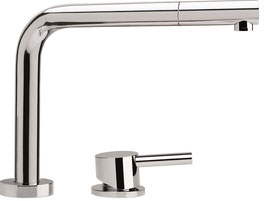 Franke miscelatore Active Window  sottofinestra doccia nickel