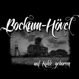 "T-Shirt "" Bockum Hövel"" (Auf Kohle geboren)"