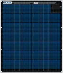 SOLARA Solar panel S320P41 (12V/80Wp/320Wh/d)