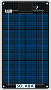 SOLARA Solar panel S50P36 (12V/12Wp/50Wh/d)