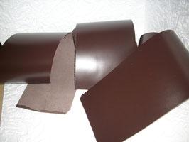 3 Stück Rindsleder braun 500mm x160 mm