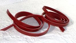 2 Vollleder Riemen Rot