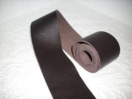 1 Lederband- / Riemen Glattleder in Büffeloptik