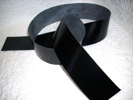 1 Kalbslederriemen schwarz 4 - 6 cm breite