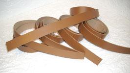 10 Volllederriemen dunkl braun *1 m lang 2,5 cm breit *
