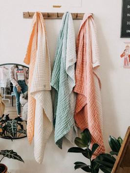 Decke  BIG 150x150cm  in verschiedenen Farben