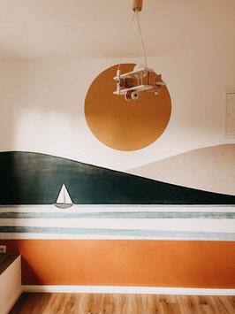 Sonne, Boot und Meer