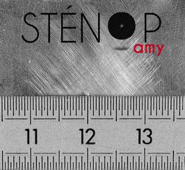 Sténopé percé à 0,3 mm
