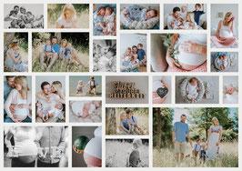 BabyDiary Gutschein 3 x Fotografieren zb. Bauch/ Baby/ 1 Jahr -spart 337€