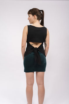 Open Back - Black Top